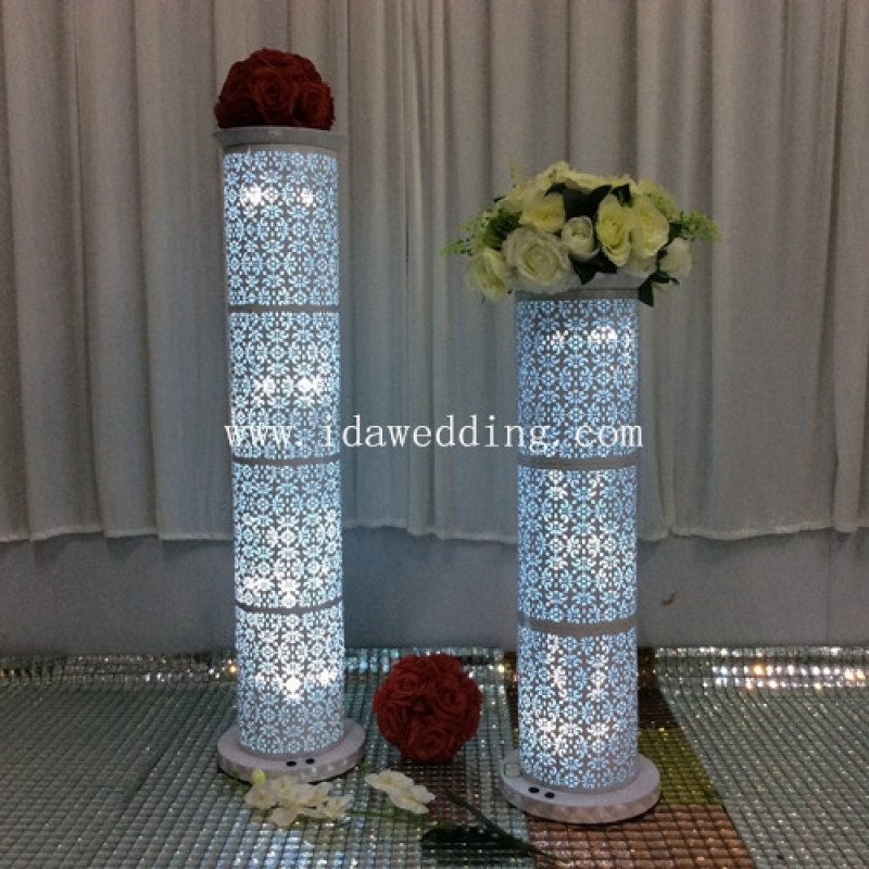 Best ideas about How To Make DIY Lighted Wedding Columns . Save or Pin Best Diy Wedding Columns Wedding Ideas Now.