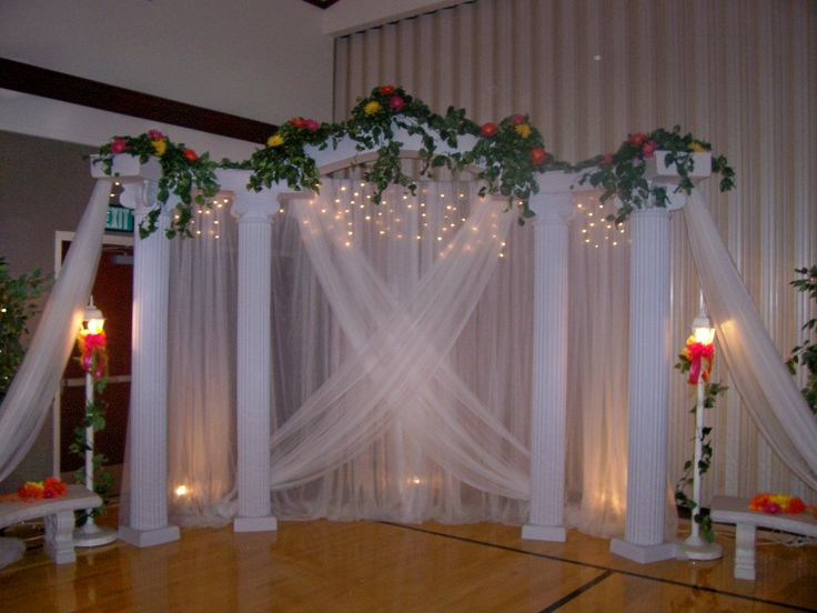 Best ideas about How To Make DIY Lighted Wedding Columns . Save or Pin 25 best ideas about Wedding columns on Pinterest Now.