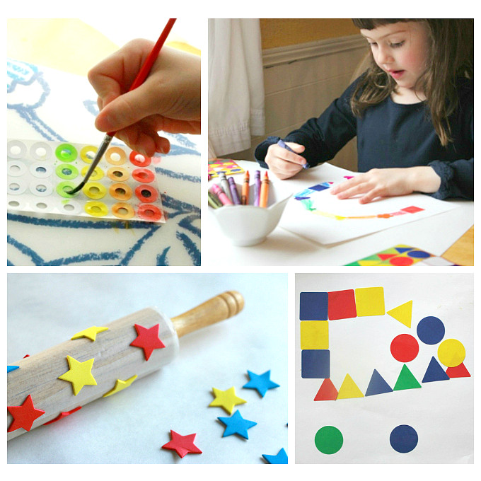 Best ideas about How To Projects For Kids . Save or Pin 13 Sticker Art Projects for Kids Simple Ideas Using a Now.
