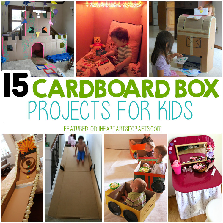 Best ideas about How To Projects For Kids . Save or Pin 15 Super Fun Cardboard Box Projects For Kids I Heart Now.