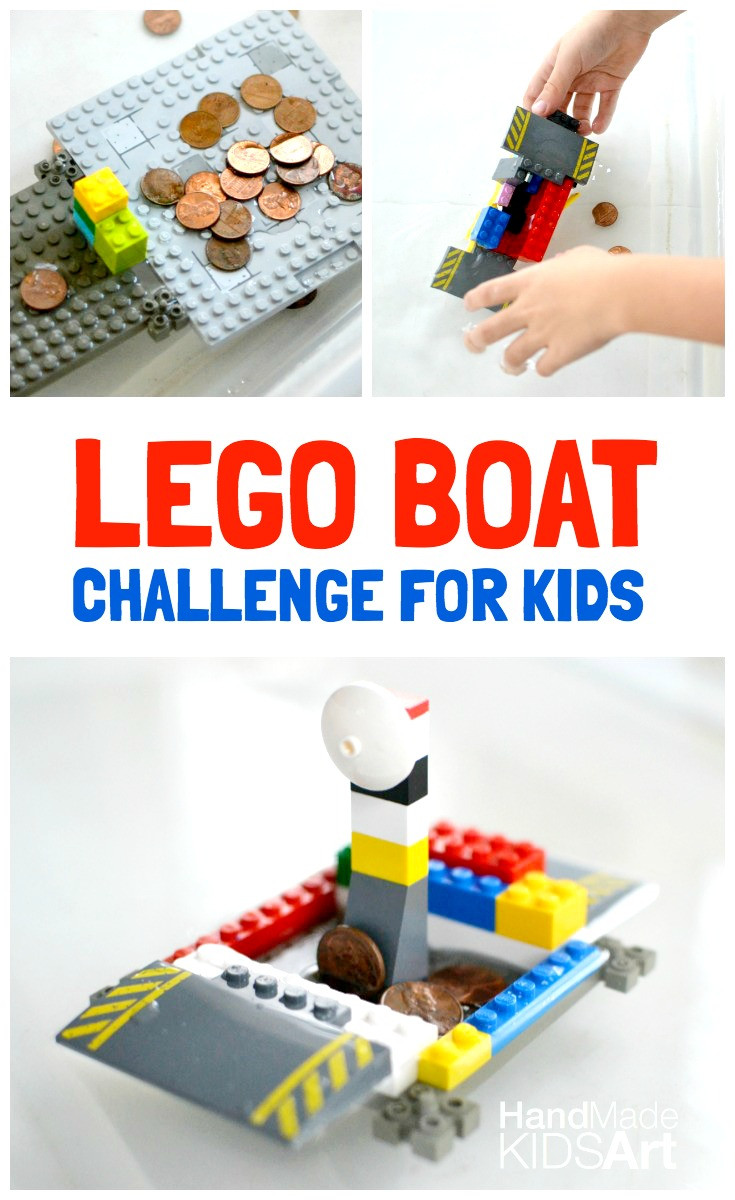 Best ideas about How To Projects For Kids . Save or Pin LEGO Boat Engineering Challenge for Kids Kids STEAM Lab Now.
