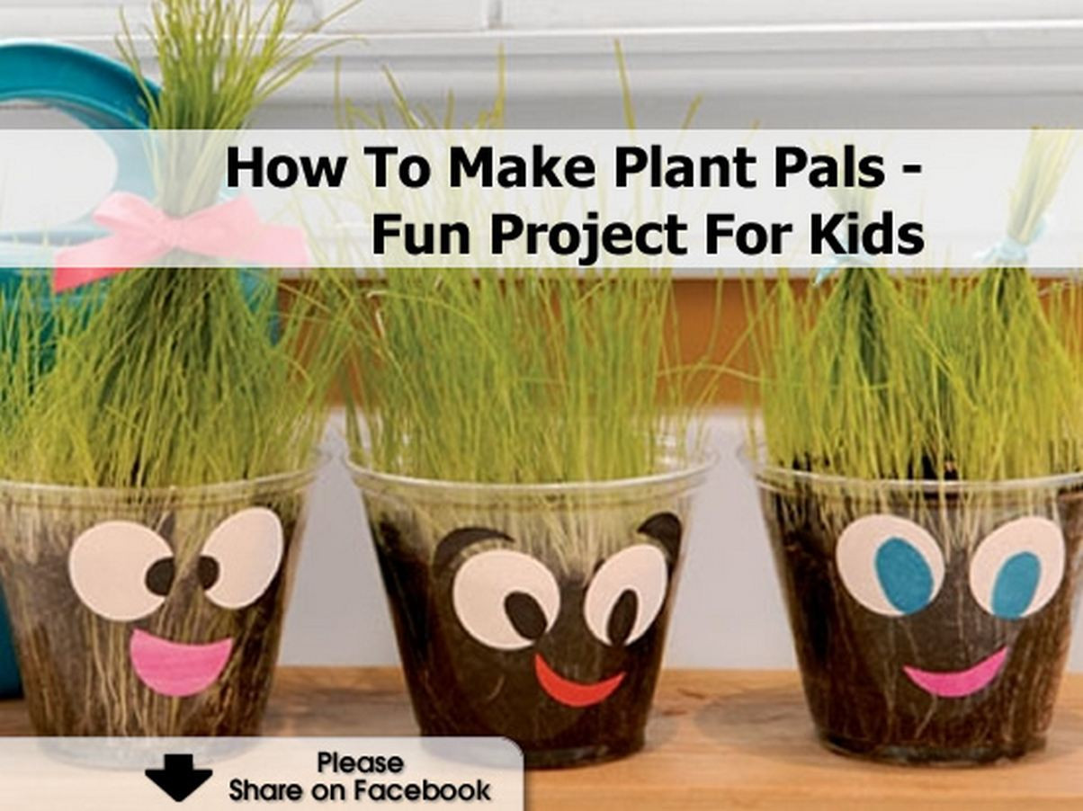 Best ideas about How To Projects For Kids . Save or Pin How To Make Plant Pals Fun Project For Kids Now.