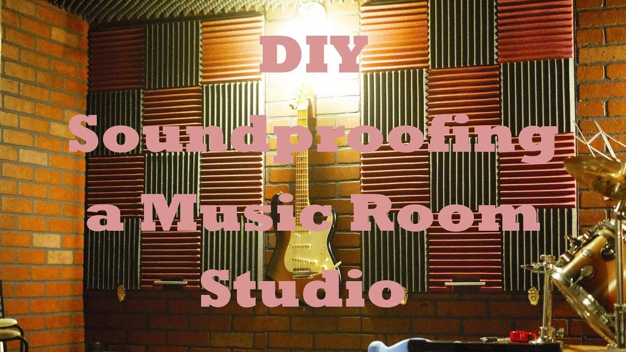 Best ideas about How To Soundproof A Room DIY . Save or Pin DIY Soundproofing a Music Room Studio Now.