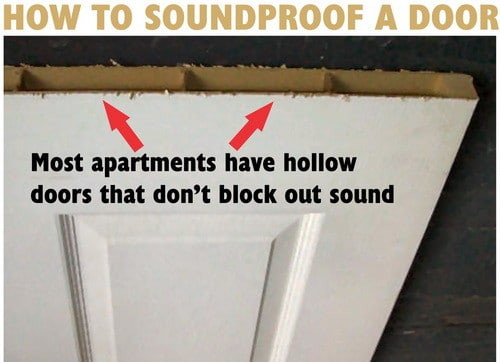 Best ideas about How To Soundproof A Room DIY . Save or Pin How To Soundproof A Bedroom Door Do It Yourself Now.