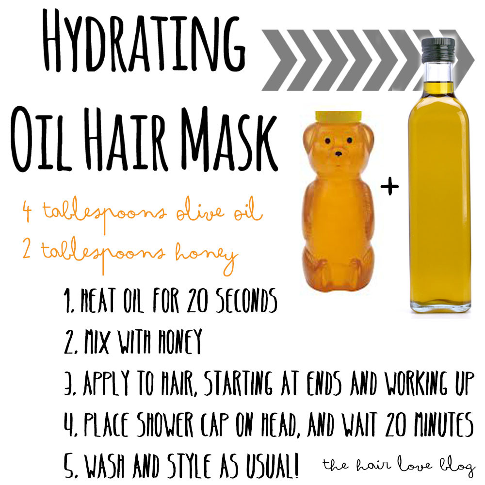 Best ideas about Hydrating Hair Mask DIY . Save or Pin Hair Love DIY Beauty Hydrating Oil Hair Mask Now.