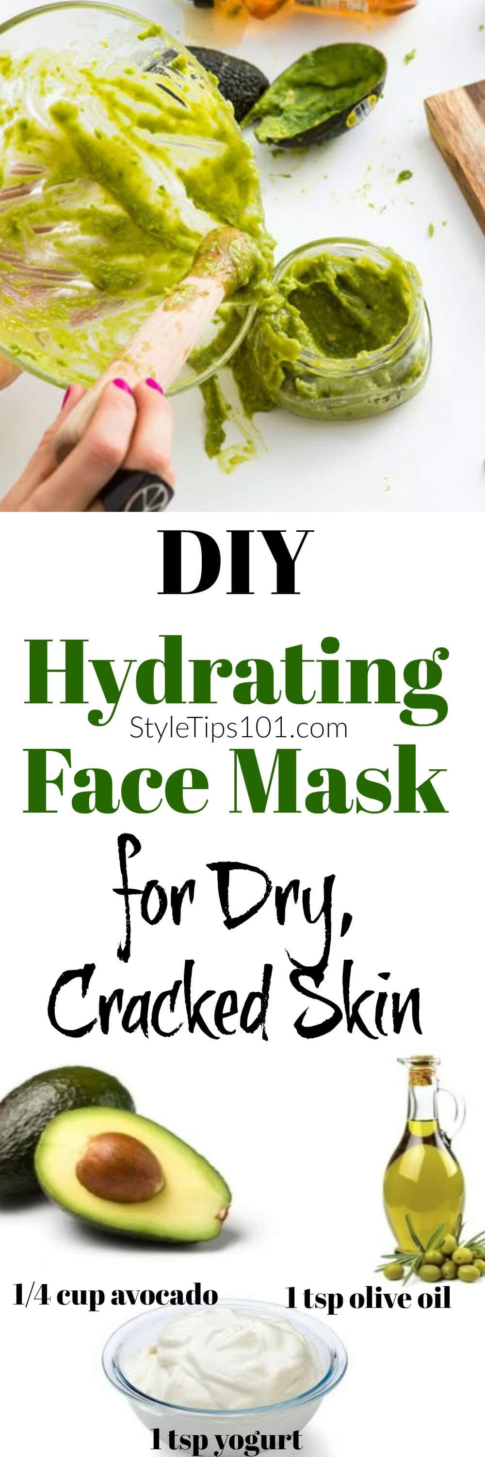 Best ideas about Hydrating Hair Mask DIY . Save or Pin DIY Hydrating Face Mask With Avocado & Yogurt Now.