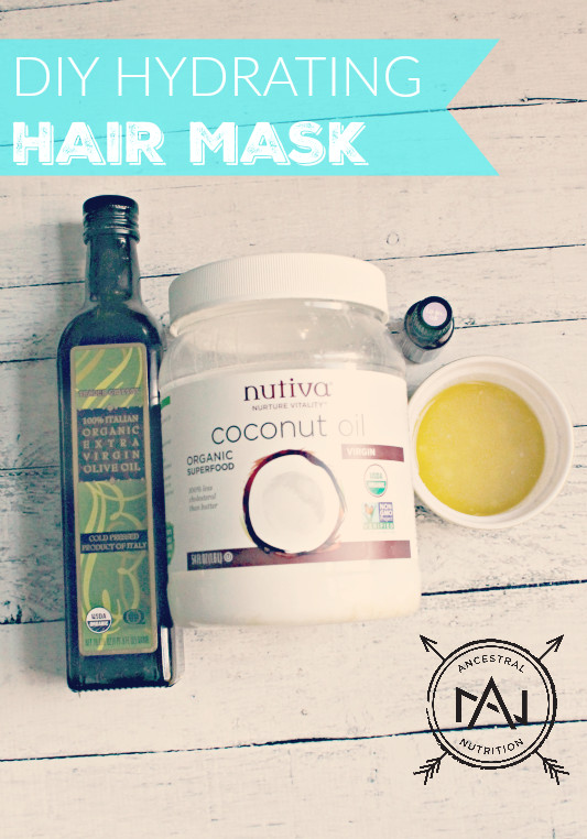 Best ideas about Hydrating Hair Mask DIY . Save or Pin DIY Hydrating Hair Mask Ancestral Nutrition Now.
