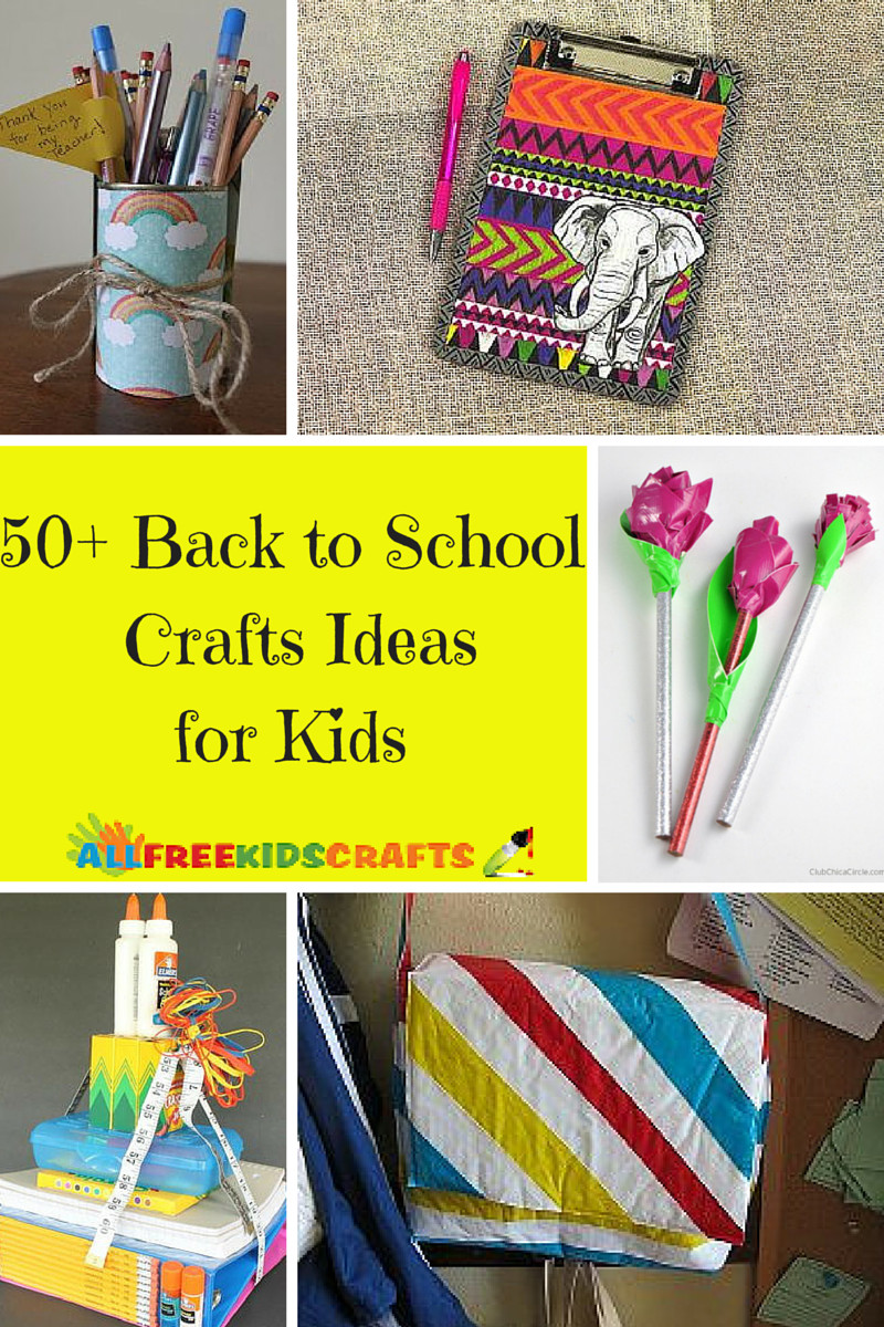Best ideas about Ideas For Kids . Save or Pin 50 Back to School Crafts Ideas for Kids Now.