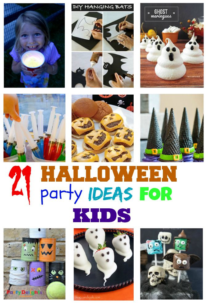 Best ideas about Ideas For Kids . Save or Pin 10 Ghoulishly Great Easy Halloween Recipes for kids Now.