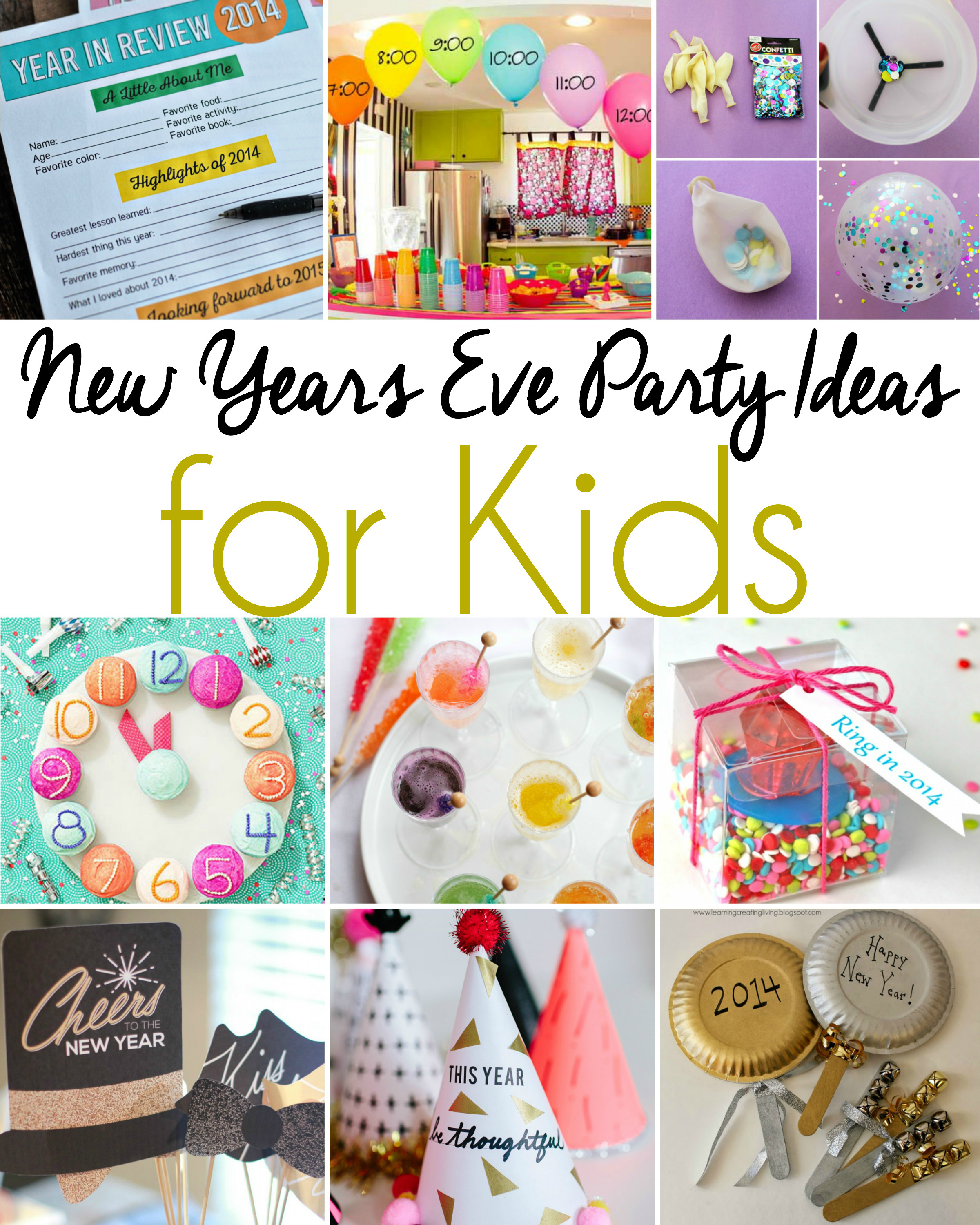 Best ideas about Ideas For Kids . Save or Pin New Years Eve Party Ideas for Kids Now.