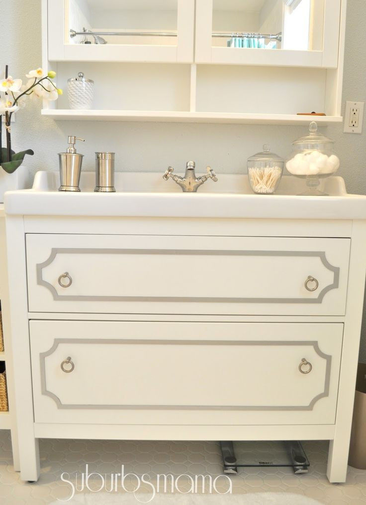 Best ideas about Ikea Bathroom Vanity . Save or Pin Best 20 Ikea hack bathroom ideas on Pinterest Now.