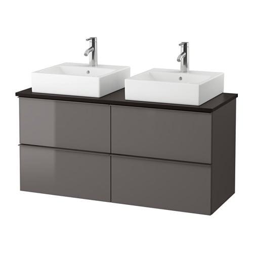 Best ideas about Ikea Bathroom Vanity . Save or Pin GODMORGON TOLKEN TÖRNVIKEN Vanity countertop and 17 3 4 Now.