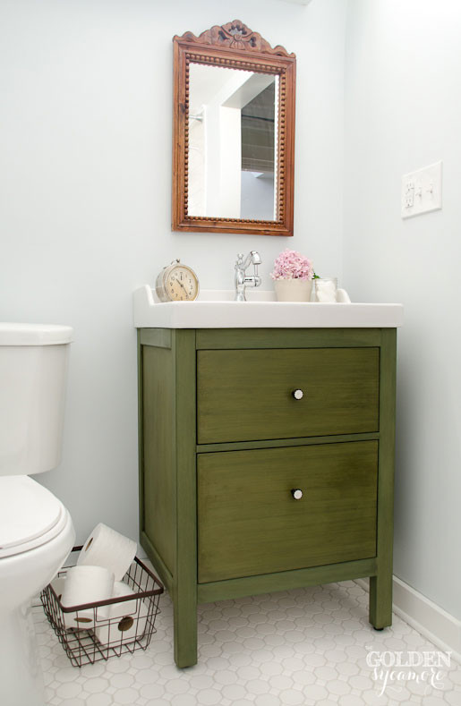 Best ideas about Ikea Bathroom Vanity . Save or Pin Ikea Bathroom Vanity Update on the Update The Golden Now.