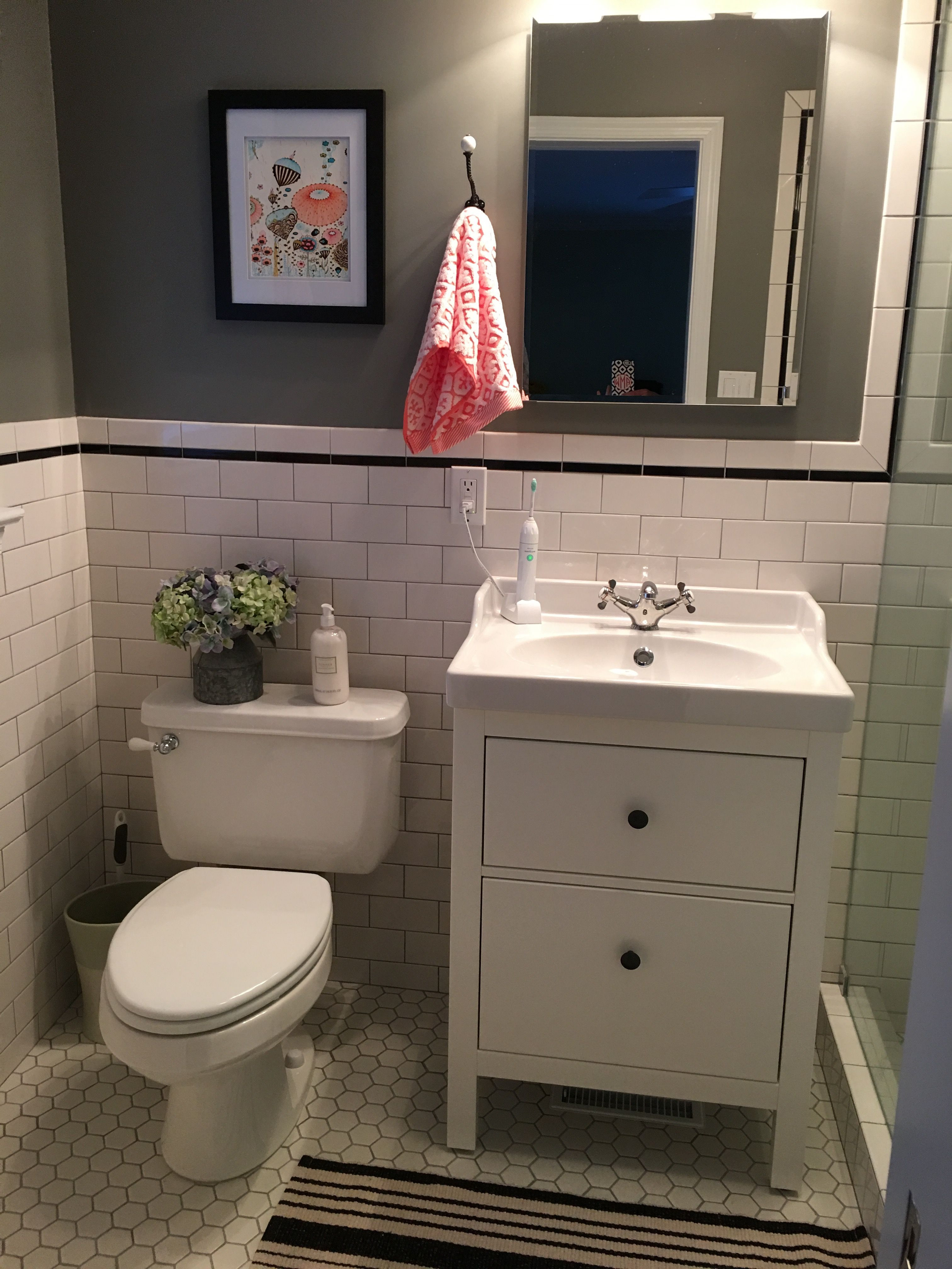 Best ideas about Ikea Bathroom Vanity . Save or Pin IKEA Hemnes Bathroom Vanity Bathroom remodel Now.