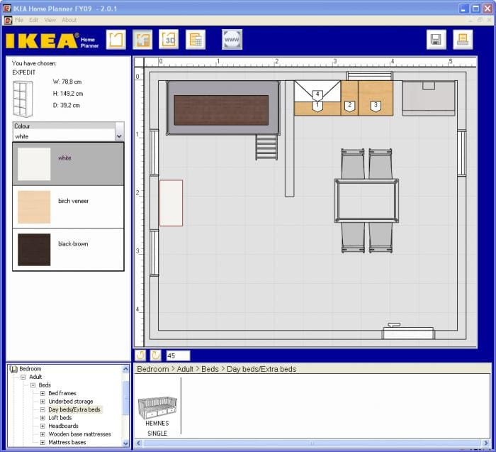 Best ideas about Ikea Bedroom Planner . Save or Pin IKEA Home Planner Download Now.