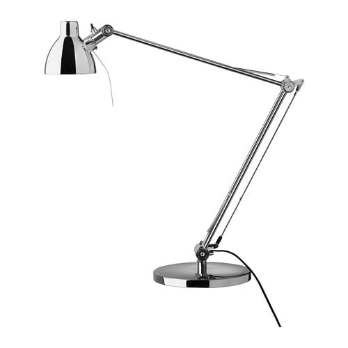 Best ideas about Ikea Desk Lamps . Save or Pin IKEA ANTIFONI desk light Chrome plated silver HALOGEN work Now.