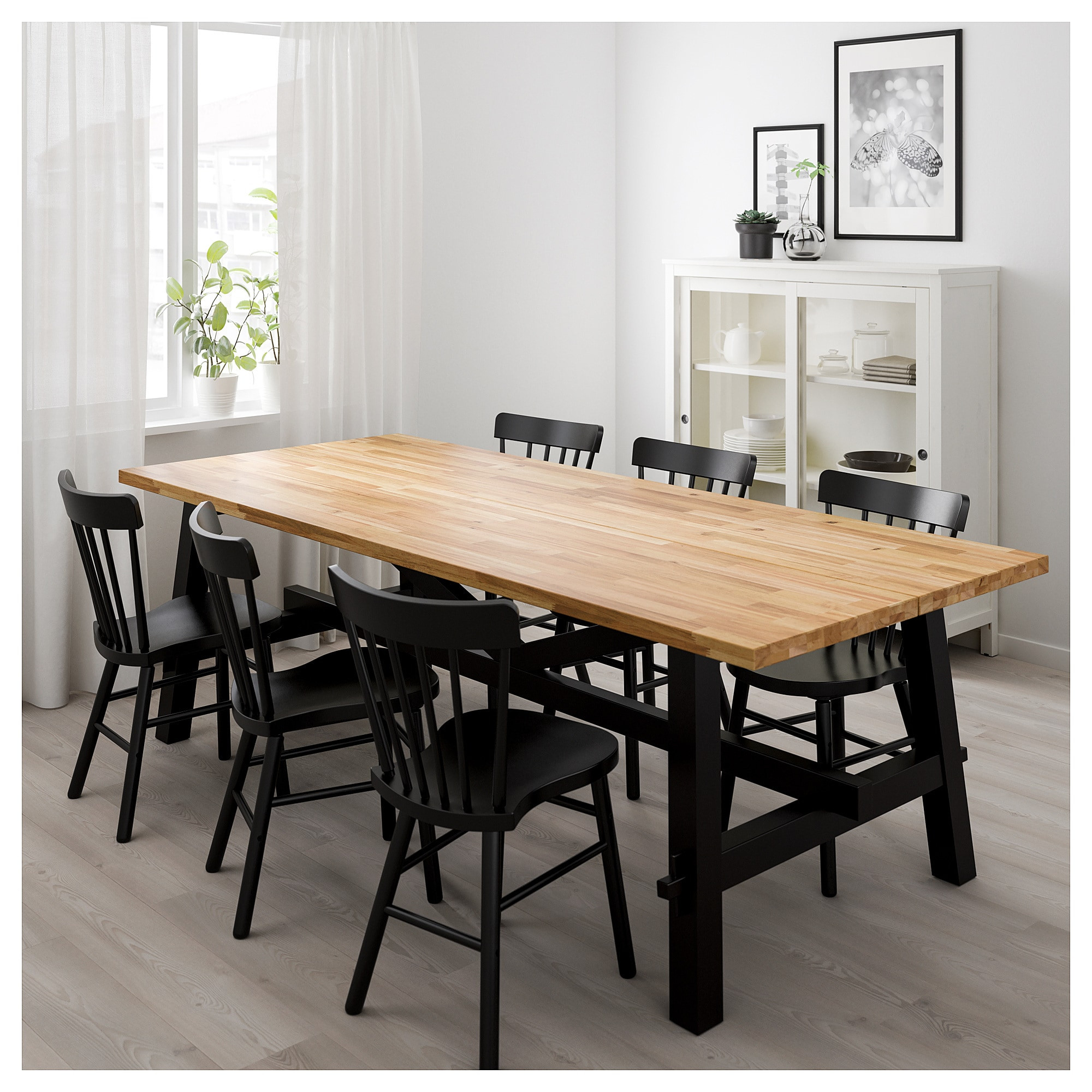 Best ideas about Ikea Dining Table . Save or Pin SKOGSTA Dining table Acacia 235 x 100 cm IKEA Now.