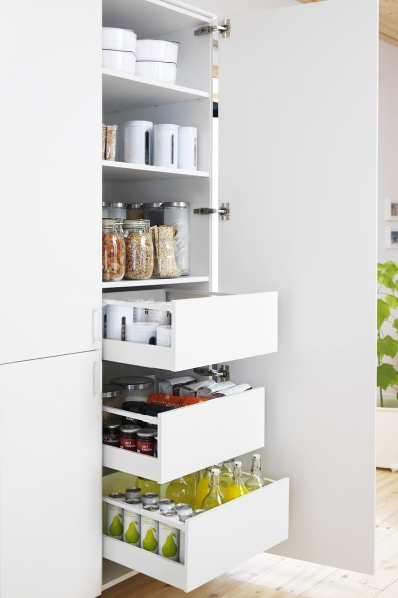 Best ideas about Ikea Kitchen Organization . Save or Pin Slide Out Kitchen Pantry Drawers Inspiration The Now.