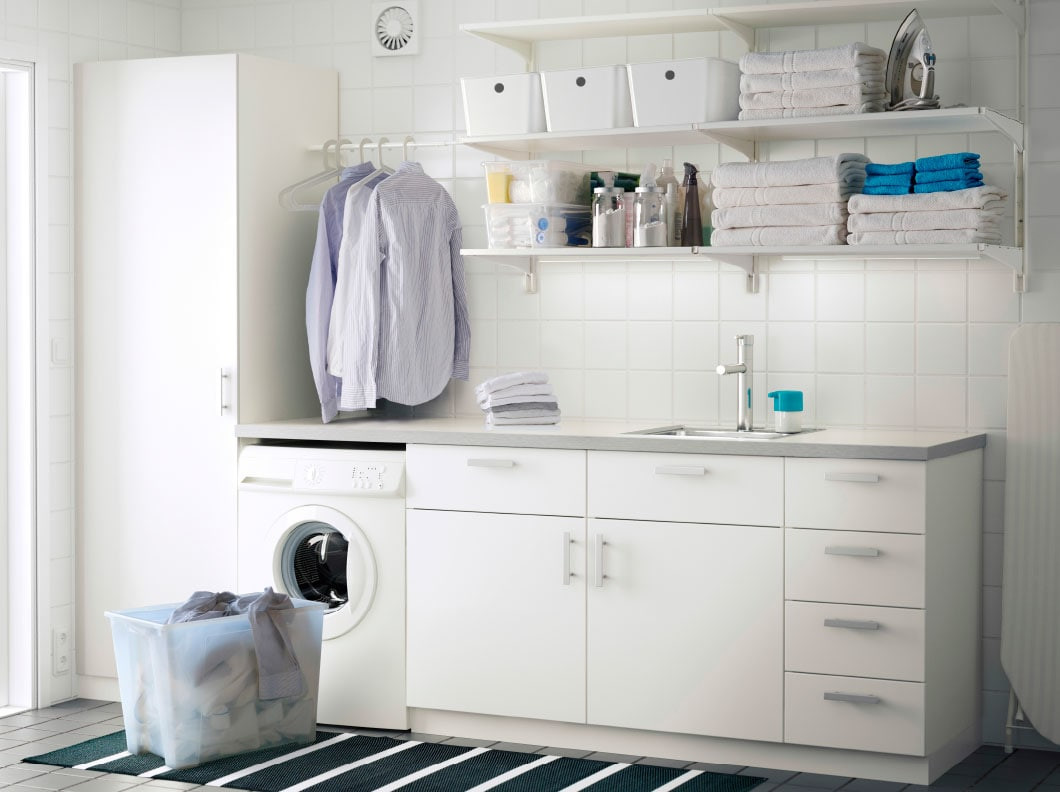 Best ideas about Ikea Laundry Room . Save or Pin IKEA Now.