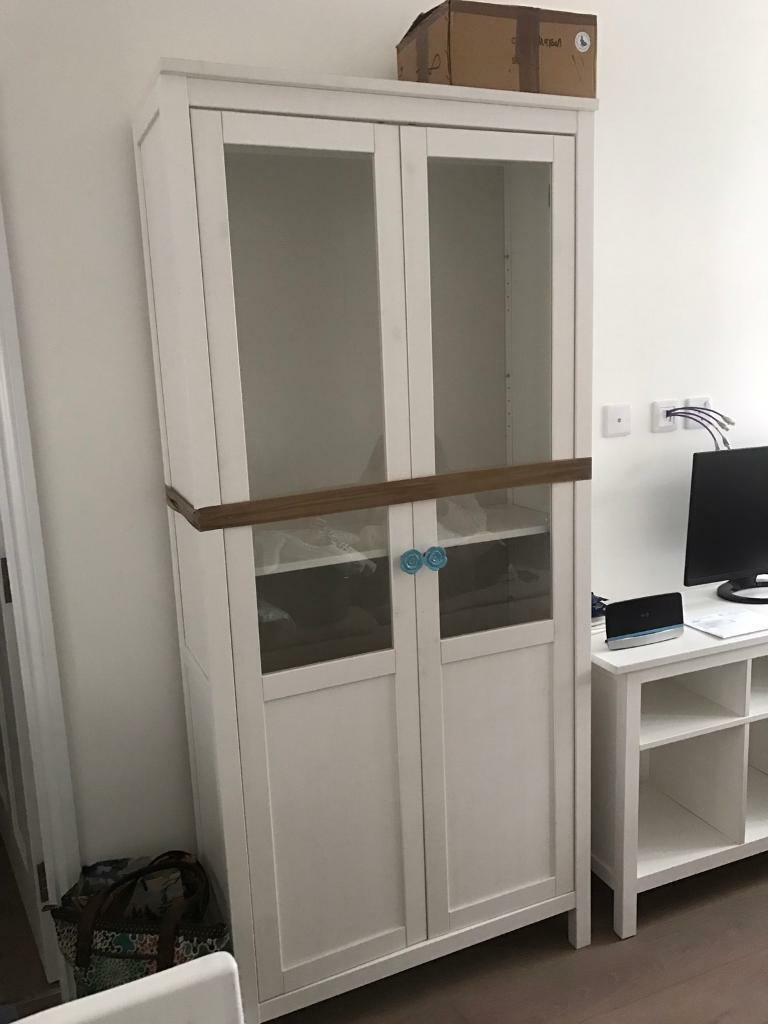 Best ideas about Ikea Pantry Cabinet . Save or Pin IKEA Hemnes white pantry style cabinet Now.