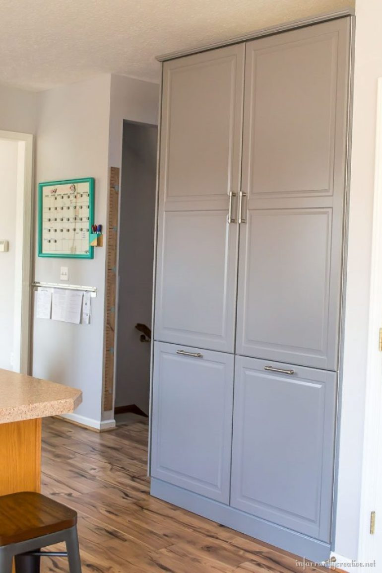 Best ideas about Ikea Pantry Cabinet . Save or Pin How to Assemble an IKEA Sektion Pantry Infarrantly Creative Now.