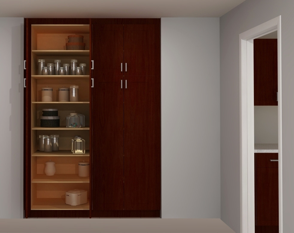 Best ideas about Ikea Pantry Cabinet . Save or Pin Useful spaces a built in IKEA pantry Now.
