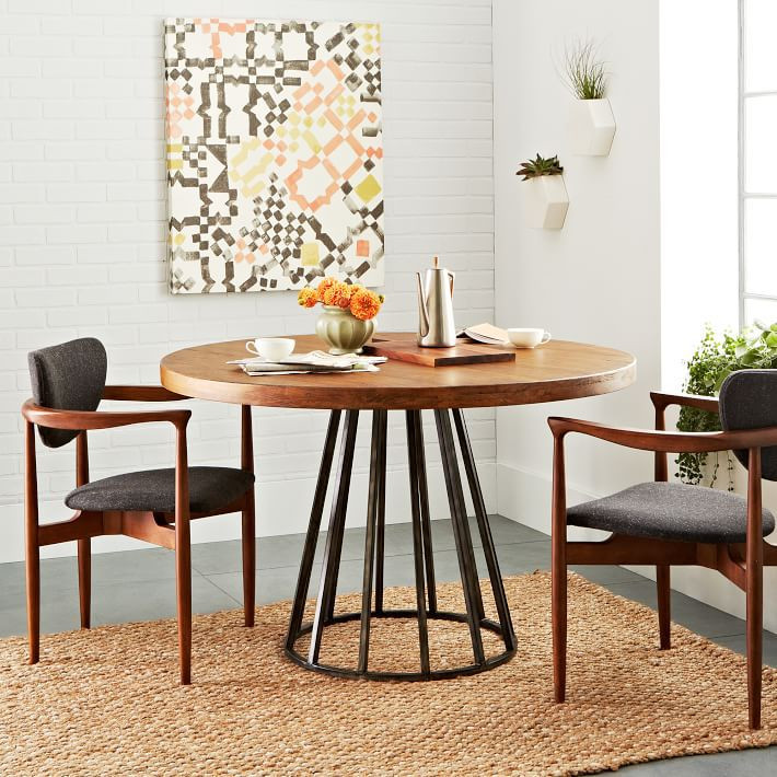 Best ideas about Ikea Round Dining Table . Save or Pin Nordic IKEA solid wood dining tables and chairs round the Now.