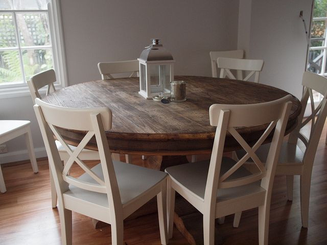 Best ideas about Ikea Round Dining Table . Save or Pin ikea chairs and table My future home Now.