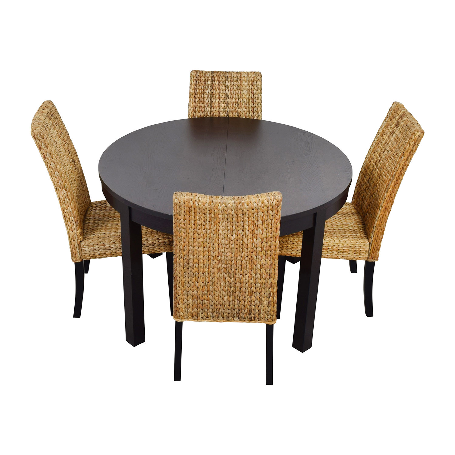 Best ideas about Ikea Round Dining Table . Save or Pin OFF Macy 039 s IKEA Round Black Dining Table Set With Now.