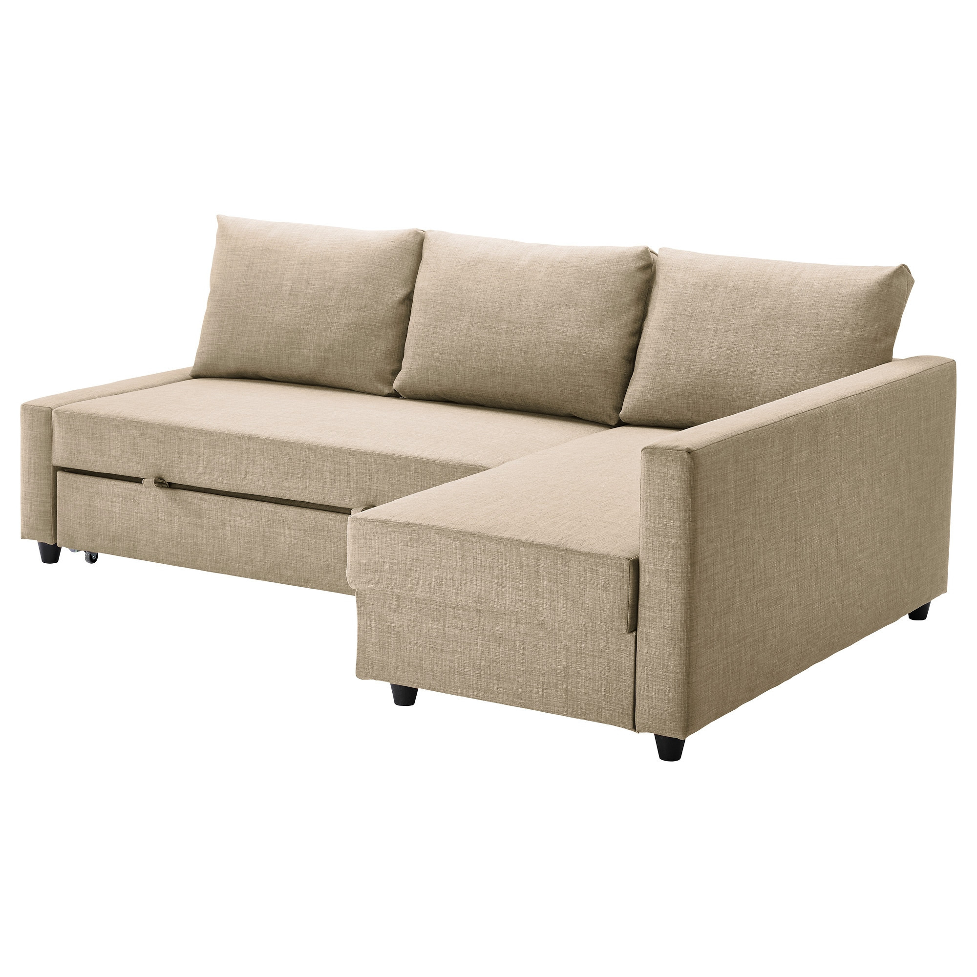 Best ideas about Ikea Sectional Sofa . Save or Pin FRIHETEN Corner sofa bed with storage Skiftebo beige IKEA Now.