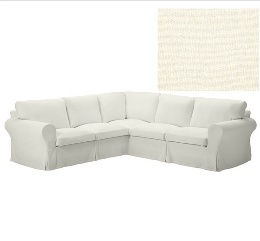 Best ideas about Ikea Sectional Sofa . Save or Pin IKEA EKTORP Corner Sofa SLIPCOVER 2 2 Cover IDEMO BLACK 4 Now.