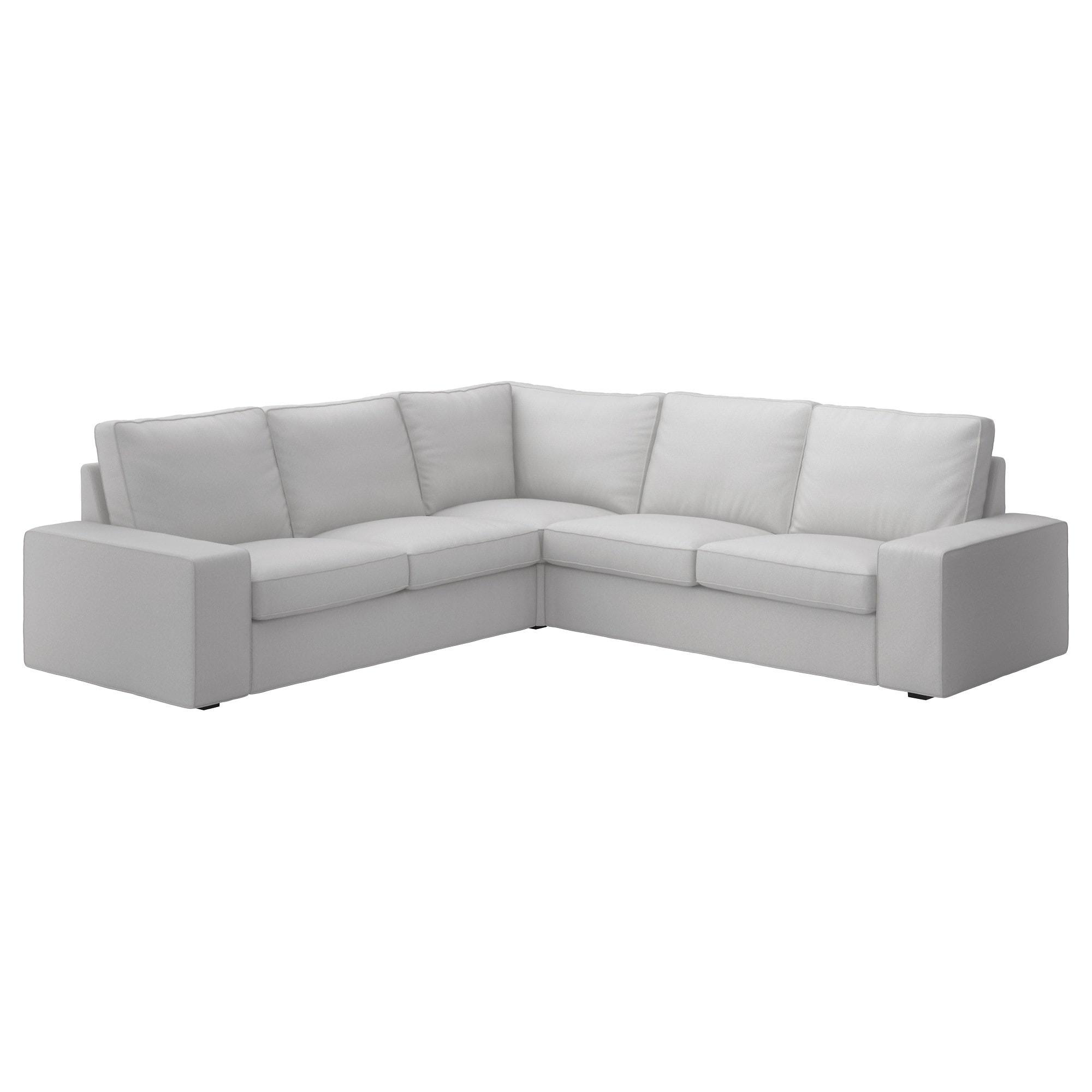 Best ideas about Ikea Sectional Sofa . Save or Pin KIVIK Corner sofa 4 seat Ramna light grey IKEA Now.