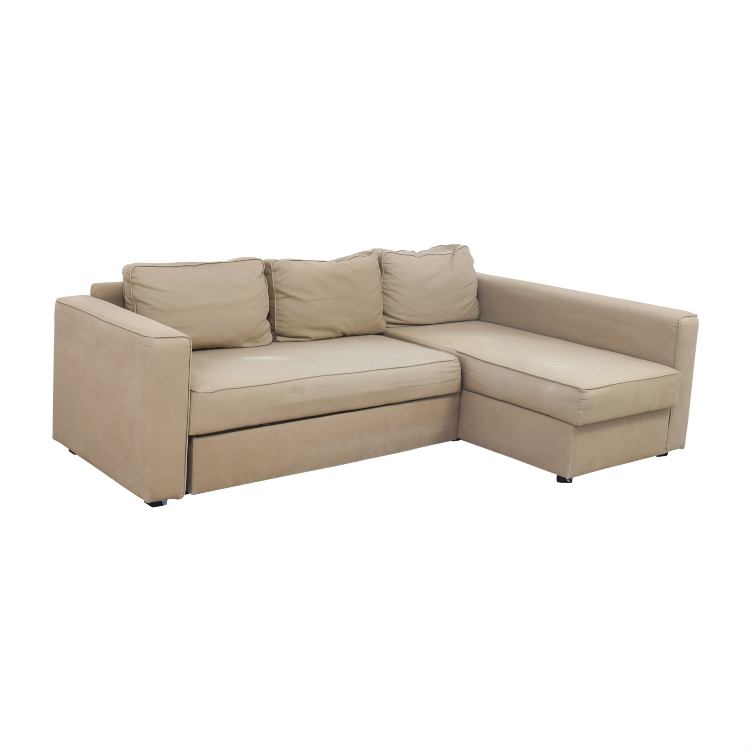 Best ideas about Ikea Sectional Sofa . Save or Pin OFF IKEA IKEA Manstad Sectional Sofa Bed with Now.
