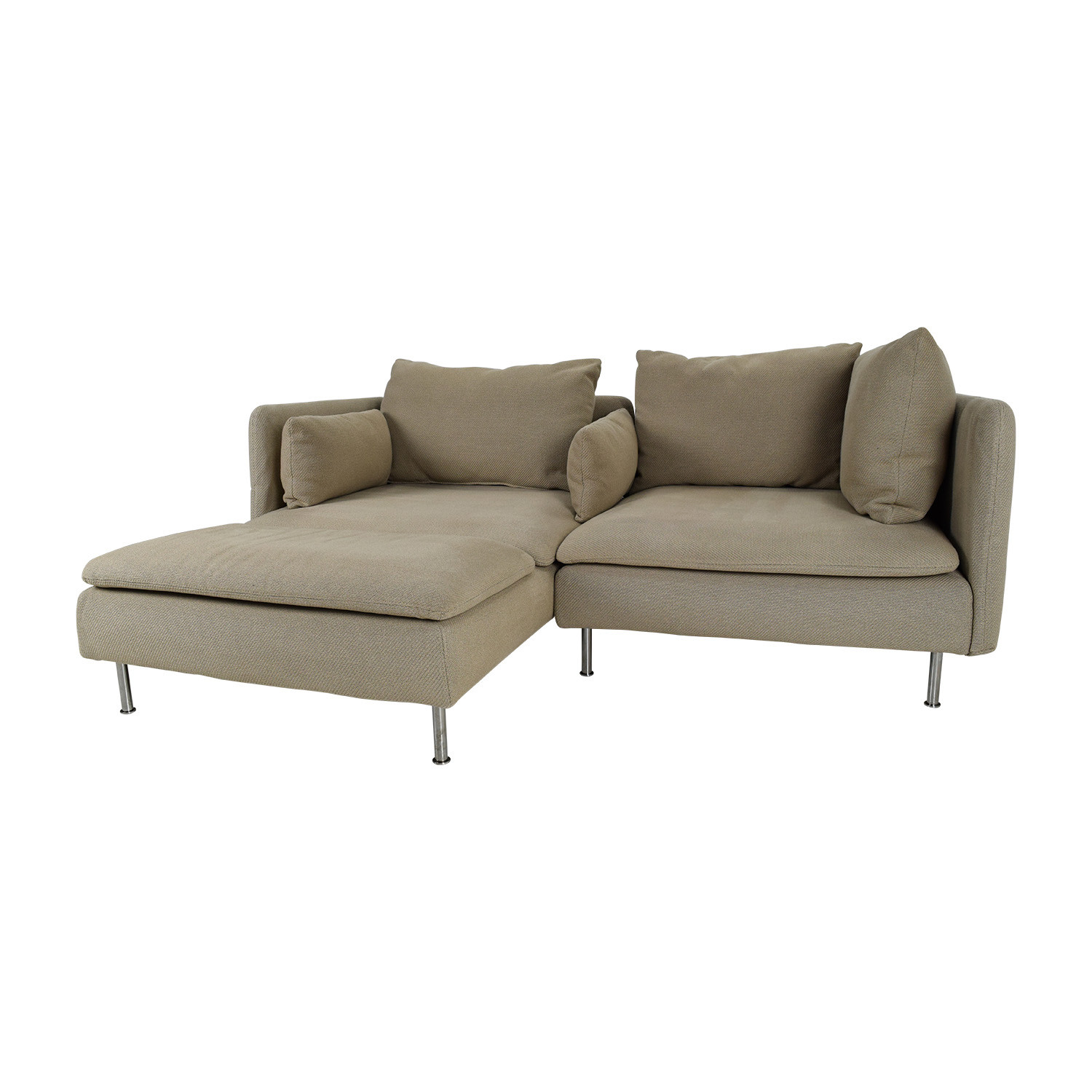 Best ideas about Ikea Sectional Sofa . Save or Pin OFF IKEA Soderhamn Sectional Sofa Sofas Now.