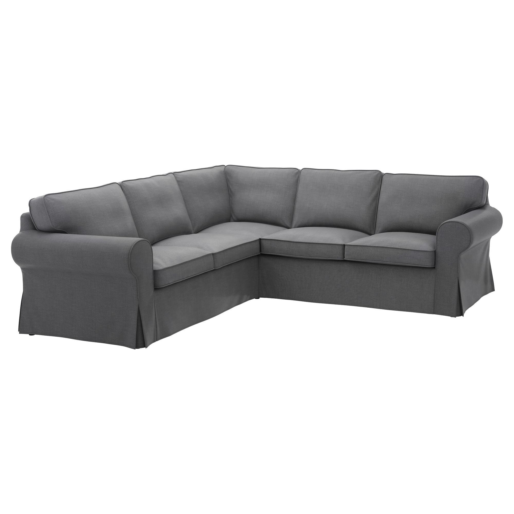 Best ideas about Ikea Sectional Sofa . Save or Pin EKTORP Corner sofa 4 seat Nordvalla dark grey IKEA Now.