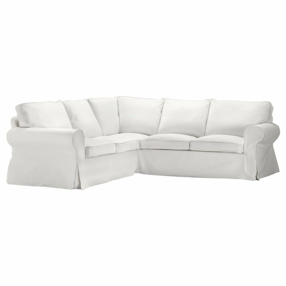 Best ideas about Ikea Sectional Sofa . Save or Pin Ikea Ektorp Cover 2 2 Sofa Corner Slipcover Blekinge White Now.