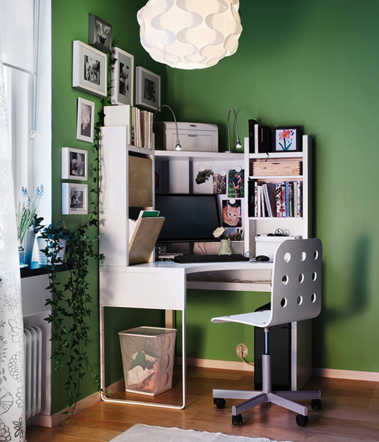 Best ideas about Ikea Storage Ideas . Save or Pin IKEA Workspace Organization Ideas 2011 DigsDigs Now.