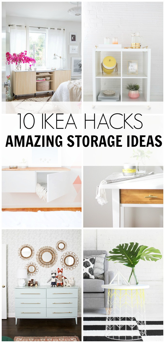 Best ideas about Ikea Storage Ideas . Save or Pin 10 IKEA HACKS Amazing Storage Ideas – HAWTHORNE AND MAIN Now.