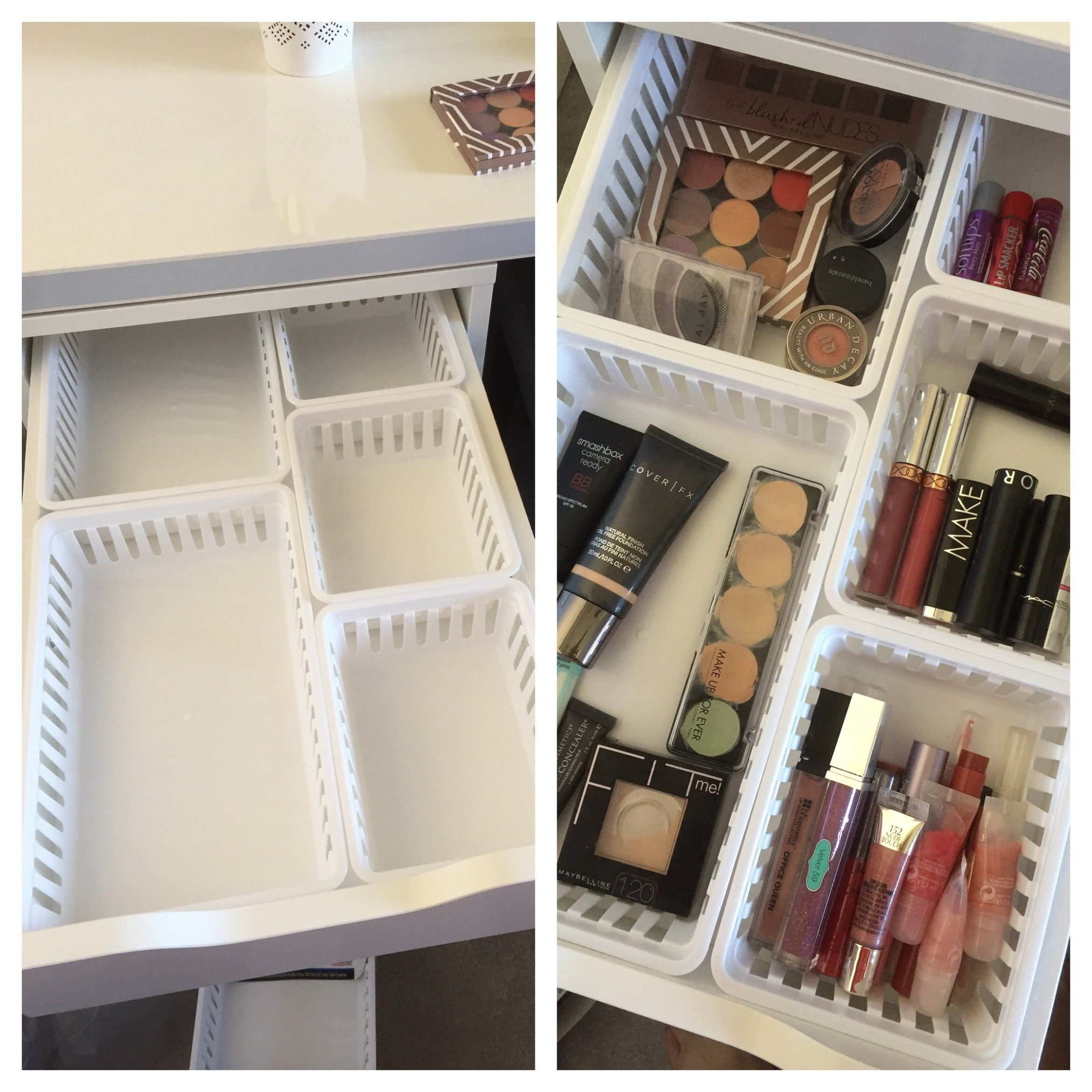Best ideas about Ikea Storage Ideas . Save or Pin Walmart Makeup Storage Ideas for IKEA Alex Drawers Now.