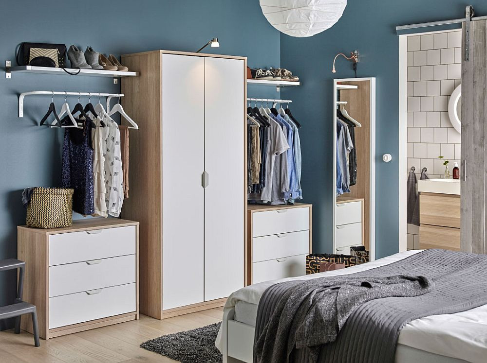 Best ideas about Ikea Storage Ideas . Save or Pin 50 IKEA Bedrooms That Look Nothing but Charming Now.
