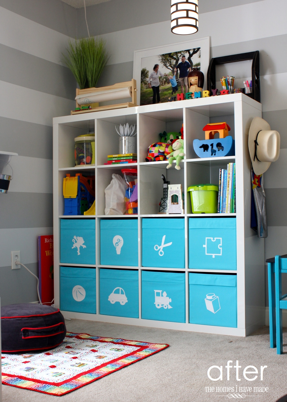 Best ideas about Ikea Toy Storage Ideas . Save or Pin Toy Storage in an IKEA Expedit Now.