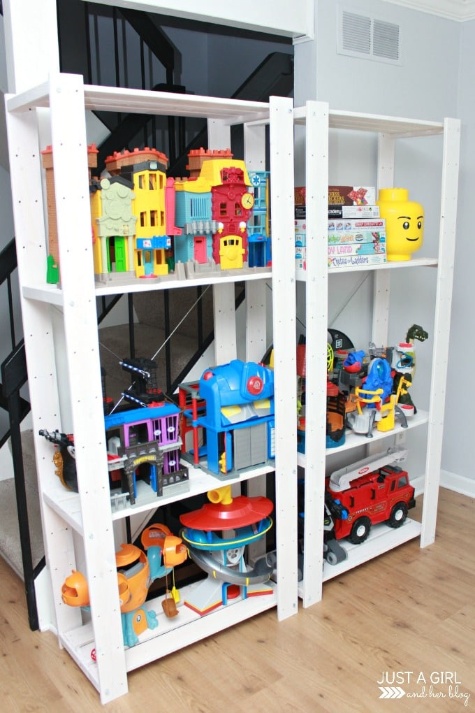Best ideas about Ikea Toy Storage Ideas . Save or Pin A Storage Solution for Big Toys and an IKEA hack  Just Now.