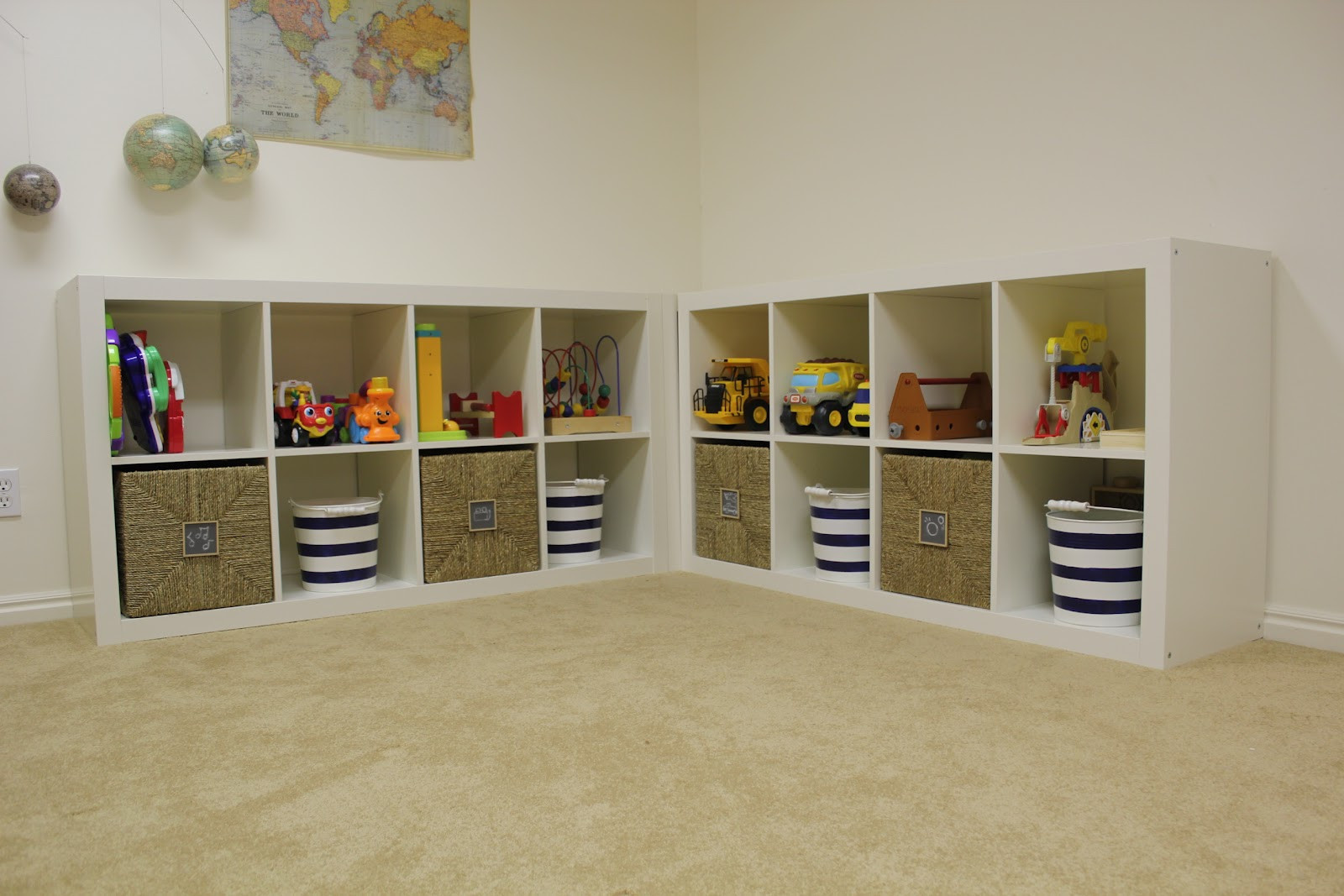 Best ideas about Ikea Toy Storage Ideas . Save or Pin everywhere beautiful Playroom Update Toy Storage Now.