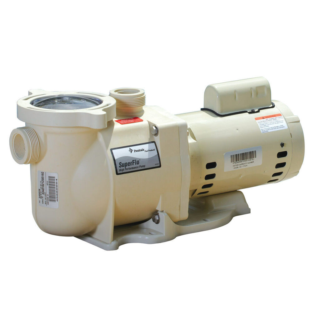 Best ideas about In Ground Pool Pump . Save or Pin Pentair SuperFlo In Ground Pool Pumps Now.