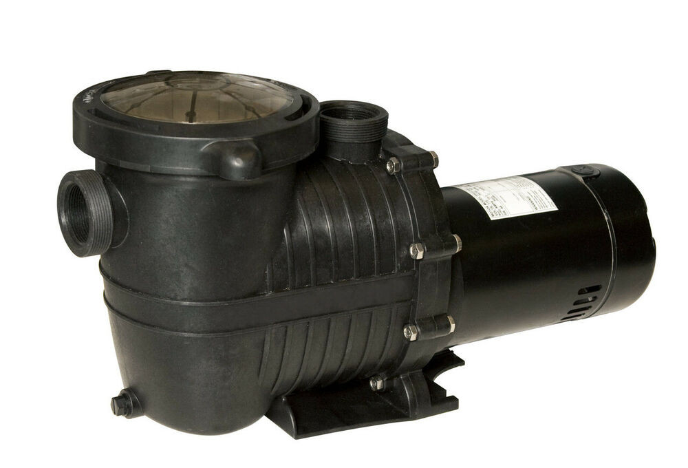 Best ideas about In Ground Pool Pump . Save or Pin 2 SPEED 1HP ECONOMY PUMP for SMALL or LARGE ABOVE GROUND Now.