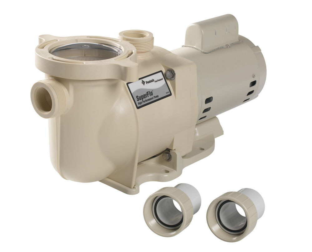 Best ideas about In Ground Pool Pump . Save or Pin 1 5 HP Replacement Single Speed SuperFlo In Ground Pool Now.