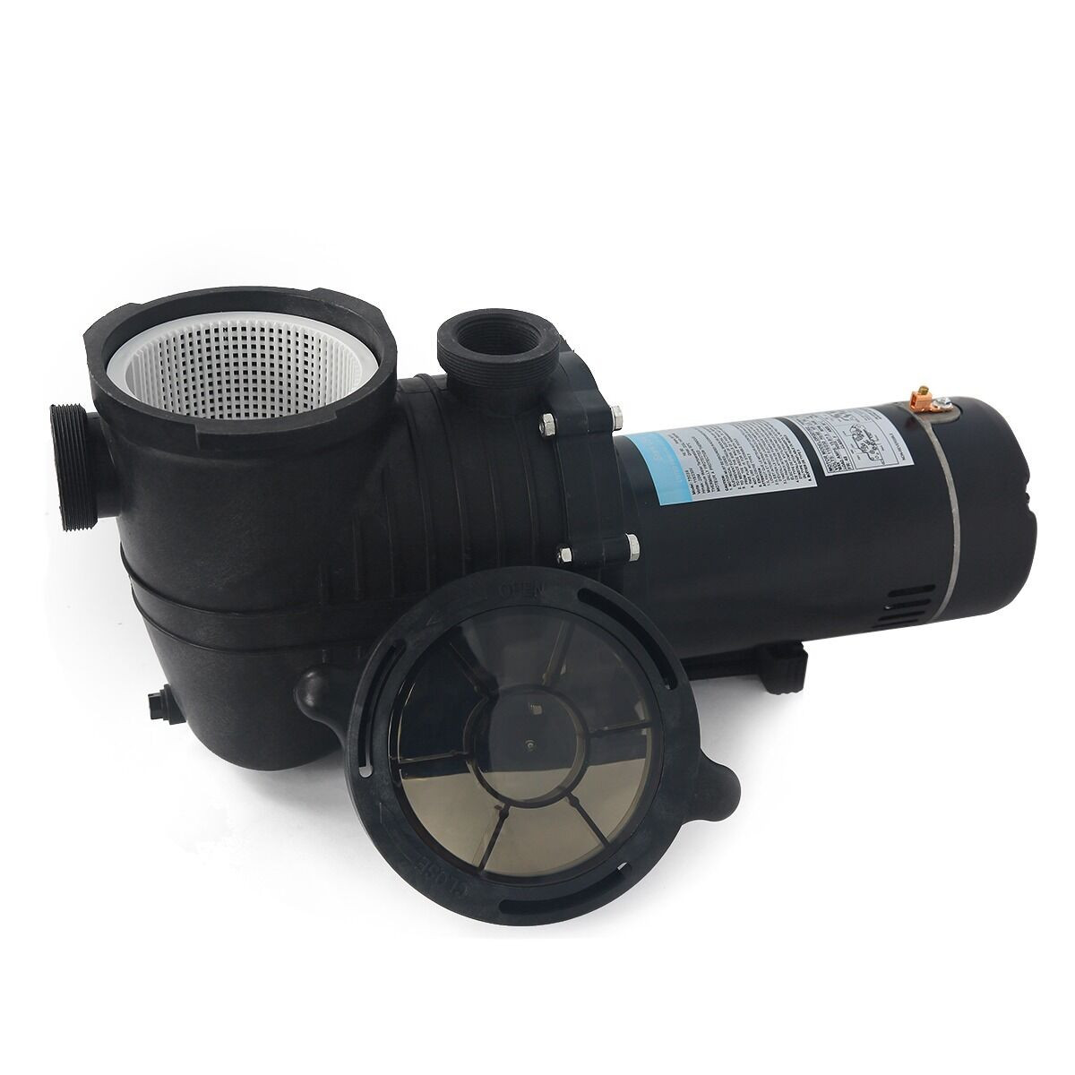Best ideas about In Ground Pool Pump . Save or Pin 2HP IN GROUND Swimming spa POOL PUMP MOTOR Strainer above Now.