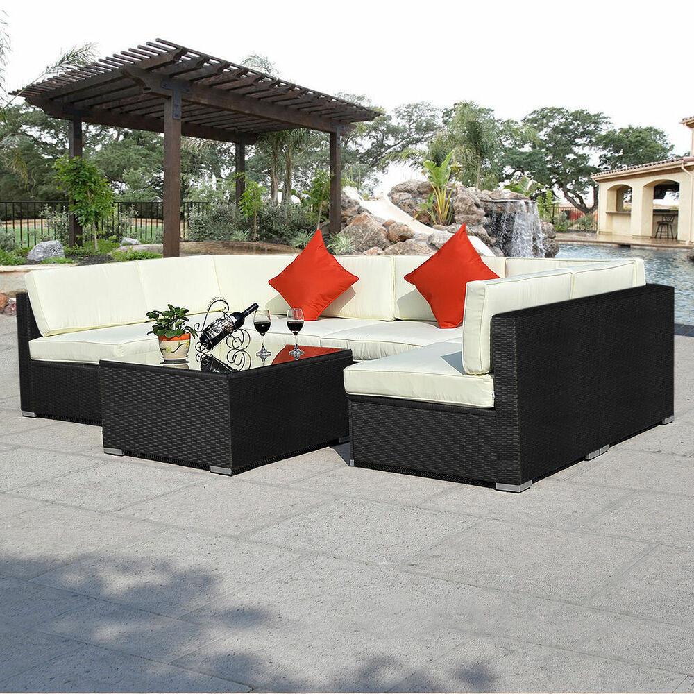 Best ideas about Indoor Patio Furniture . Save or Pin 7PCS RATTAN GARDEN OUTDOOR & INDOOR WICKER PATIO FURNITURE Now.