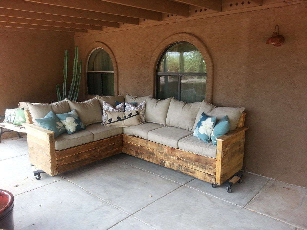 Best ideas about Indoor Patio Furniture . Save or Pin Pallet furniture DYI Now.