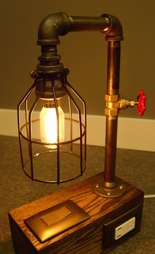 Best ideas about Industrial Desk Lamp . Save or Pin 15 Edgy and Industrial Table Lamps Now.